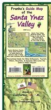 Santa Ynez Valley California Wine Country Map Guide Waterproof Franko Maps