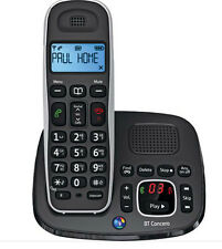 BT CONCERO 1400 DIGITAL DECT CORDLESS PHONE WITH ANSWER MACHINE