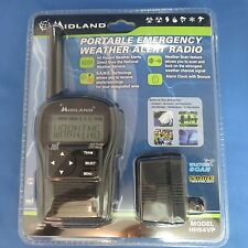 MIDLAND HH54VP PORTABLE EMERGENCY NOAA WEATHER ALERT RADIO BLACK S.A.M.E. NEW