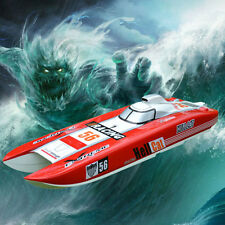 DT G30E Hell Cat Gas 30CC Engine RC Racing Speed Boat 70Km/h Fiber Glass ARTR