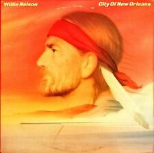 Willie Nelson City Of New Orleans Lp Vinyl 33 Giri