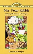 Dover Children's Thrift Classics: Mrs. Peter Rabbit by Thornton W. Burgess...