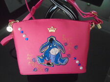 NEW GORGEOUS PINK  EEYORE  PICTURE SHOULDER BAG