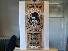Uncle Willie K's BBQ Bluesfest poster
