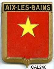 CAL240 - PLAQUE DE CALANDRE AUTO - AIX LES BAINS