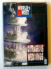 World's Most Outrageous Weddings (DVD, 2000) ~ Rare NEW TLC Video Movie Show