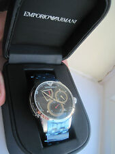 Superb Genuine Mens Emporio Armani Meccanico Automatic Watch AR4605 RRP £375