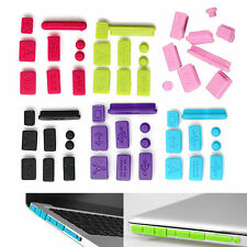 Cover Set 9pcs Protector Silicone Anti Dust Plug Ports For MacBook Pro Accessory