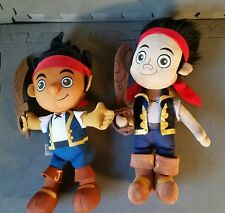 Disney's  Neverland Jake the pirate plush doll collection. Talking
