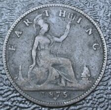 1875 H GREAT BRITAIN - FARTHING - Victoria
