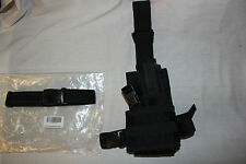 Eagle Industries TACTICAL Black Pistol Gun DROP LEG Thigh Holster Pouch Holder