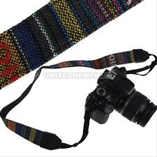 Retro Vintage SLR DSLR Camera Neck Shoulder Strap Belt for Sony NEX Canon EOS