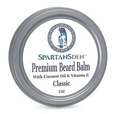 Spartans Den Premium Beard Balm For Men | Coconut Oil Vitamin E Infused | Best