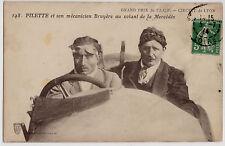 CPA -69-  LYON - G.P. de l' A.C.F. PILETTE et Bruyère au volant de la Mercédès.