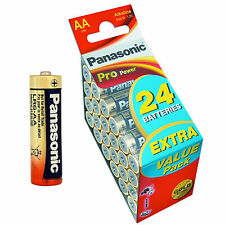 24x AA PANASONIC - VALUE PACK - LR06 - LR6 - MIGNON - SPAR PAKET - PRO POWER