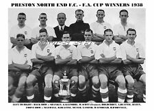 Preston North End F.c. PNE 1938 F.a. Cup ganadores Fa