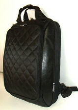 "Laptop  Backpack Messenger Sling Bag 15.6"" iPad Tablet Pocket Black Notebook New"