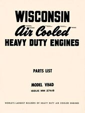 WISCONSIN VH4D Air Cool Heavy Duty  Engine Parts Manual