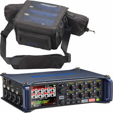 Zoom F8 Multi-Track Field Recorder with Zoom PCF-8 Protective Case