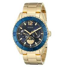 Guess U0565L4 Women's Blue Dial Yellow Gold Steel Bracelet Watch