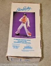 "ELVIS PRESLEY 1984 Celebrity Collection 21"" Vinyl BURNING LOVE DOLL Graceland LE"