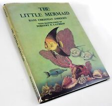 1939 1ST DOROTHY P. LATHROP ILLUSTRATED LITTLE MERMAID HC/DJ ANDERSEN FAIRY TALE