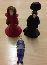 Star Wars Queen Amidala Costume changer Toy Figures Lucasfilm Applause Rare 10cm