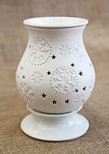 Owlchemy Snowflake Electric tart warmer with light & dimmer