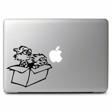Calvin & Hobbes In the Fly Box ( Flying Machime) for Macbook Vinyl Decal Sticker