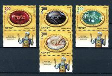 Israel 2012 MNH High Priest's Breastplate 4v Set III Onyx Agate Religion Stamps