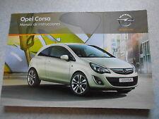 Manual de Instrucciones Opel Corsa Instrucciones servicio
