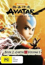Avatar - The Last Airbender - Earth : Book 2 : Vol 1 (DVD, 2009) Unsealed