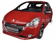 2013 PEUGEOT 208 GTI RED 1/18 DIECAST CAR MODEL BY NOREV 184700