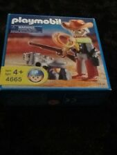 Playmobil #4665 Camping Cowboy New In Package(G)