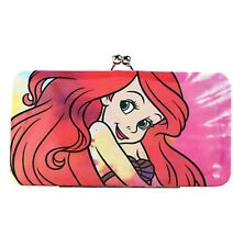 Disney The Little Mermaid Ariel Tie Dye Kisslock Hinge Wallet New With Tags!