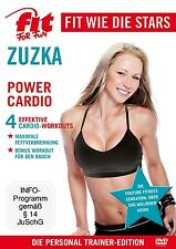 FIT FOR FUN STARS-ZUZKA - POWER CARDIO  DVD NEU