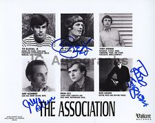 The Association - 1960s American Soft Rock Band Autographed 8x10 Signed by 3