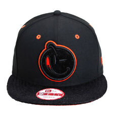NEW Authentic New Era YUMS Classic Pony Hair Black/Orange Snapback 441S