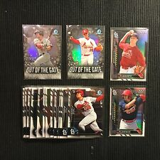 2016 Bowman Chrome St Louis Cardinals Master Team Set 17 Cards With Inserts