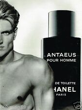Publicité advertising 1993 Eau de Toilette Homme Antaeus de Chanel