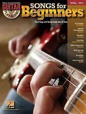 Songs For Beginners - Guitar Play-Along Volume 101 (Book/Cd) (Hal Leonard Guitar