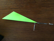 Model Boat Fittings CMBG370Y Wind Indicator 250mm For Yachts Yellow
