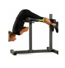 Extension Flat Hyperextension Bench Chair Abs Strength Stretching Strong Workout