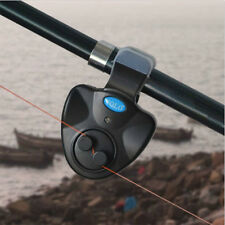 Electronic Fish Bite Alarm Finder Sound Running LED's Light Clip-on Fishing Tool