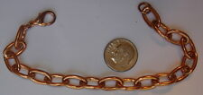 "2 New Vintage Heavy Solid Copper 9"" Bracelet/Anklets ~ Arthritis ~ USA ~ CC189 ~"