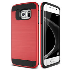 Shockproof Slim Brushed Hybrid Hard Case Cover For Samsung Galaxy A5-Red