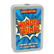 Wonder Trumps Genius Edition Top Card Game Kids Children Adults Stocking Filler