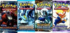 ① 4 BOOSTERS de CARTES POKEMON Neuf Aucun double en FRANCAIS (Lot N° AAF)