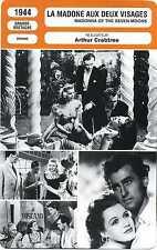 Fiche Cinéma. La Madone aux deux visages. Madonna of the seven moons (G.-B) 1944