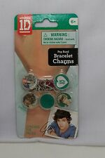 1D 1 Direction Pop Band Bracelet Charms 5- Round Charms - Liam - *New*